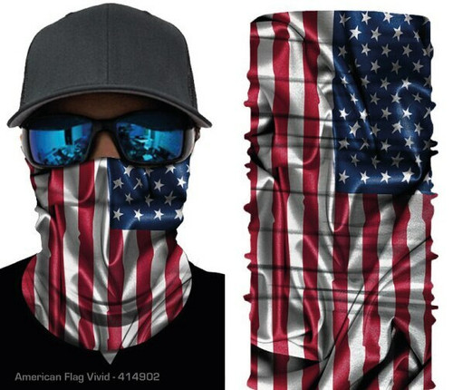 The American Patriot Multiple Use Face Cover Neck Tube - 414902