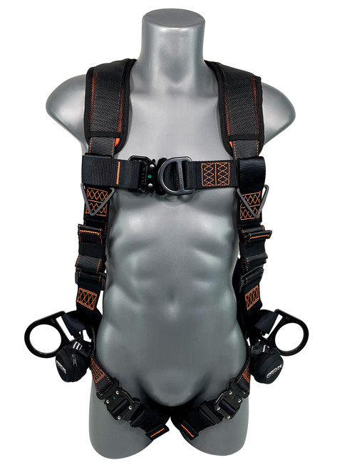 Frontline Combat Lite Vest Harness with Front, Side D-Rings and Suspension Trauma Straps