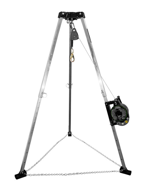 Patriot™ 7' Confined Space Tripod with 3-Way Retrieval System - Made in USA