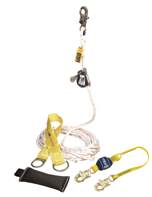 DBI SALA 5000400 Lad-Saf Mobile Rope Grab Kit 50'