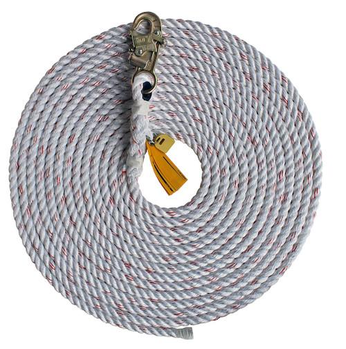 DBI SALA Rope Lifeline Snap Hook at One End