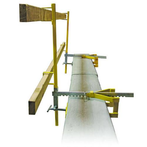 Guardian 15170 Parapet Clamp Guardrail System (1 clamp, 1 post)