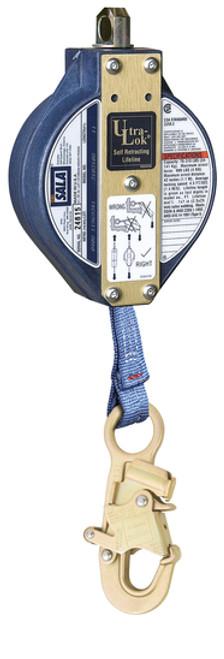 DBI SALA 3103208 Ultra-Lok Self Retracting Lifeline with Snap Hook 20'