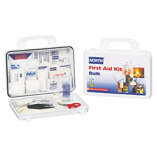 North 019743-0030L Construction 25 Person Bulk First Aid Kit