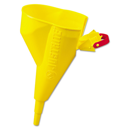 Justrite 11202Y Funnel for Type I Safety Steel Cans