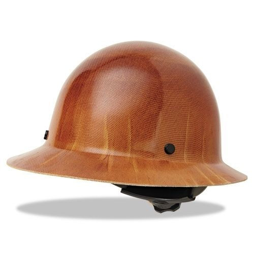 MSA Skullgard Full Brim Hard Hat with Fas-Trac Suspension