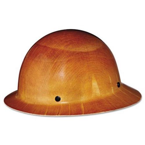 MSA 454664 Skullgard Full Brim Hard Hat with Staz-On Suspension