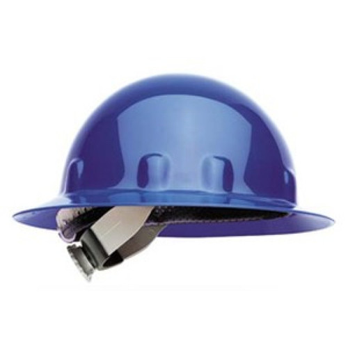 Fibre-Metal E1RW71A000 Blue Full Brim Hard Hat with Ratchet Suspension