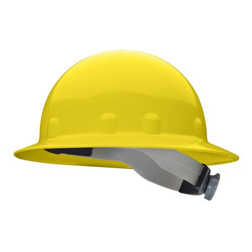 Fibre-Metal E1RW02A000 Yellow Full Brim Hard Hat Ratchet Suspension