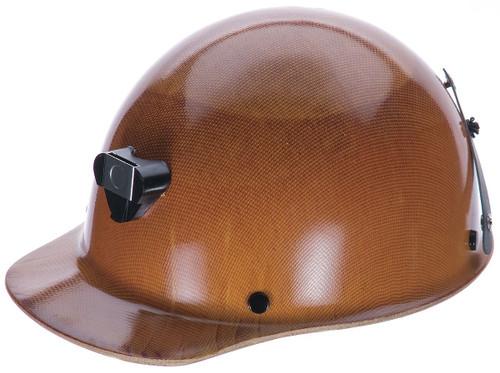 MSA 460409 Skullgard Hard Hat with Lamp Bracket and Cord Holder