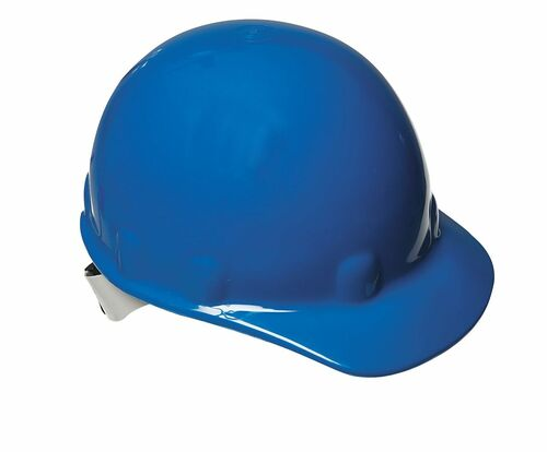 Fibre-Metal E2RW71A000 Blue Cap Hard Hat with Ratchet Suspension