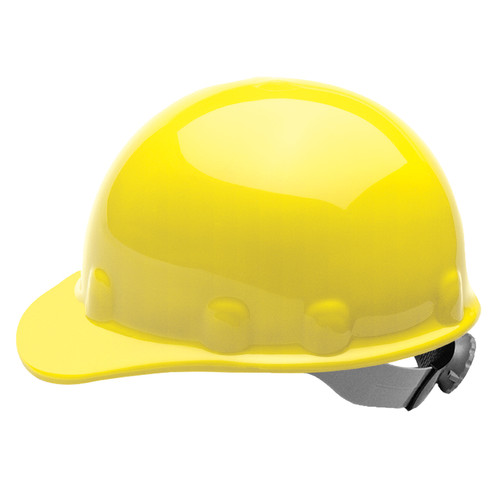 Fibre-Metal E2RW02A000 Yellow Cap Hard Hat with Ratchet Suspension