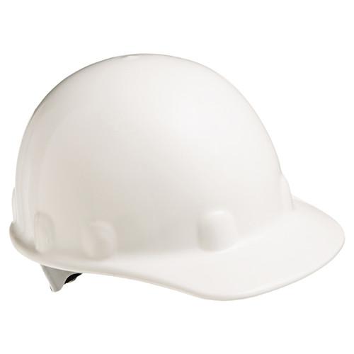 Fibre-Metal E2RW01A000 White Cap Hard Hat with Ratchet Suspension