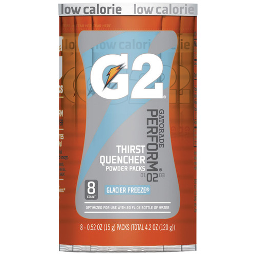 Gatorade 13160 Thirst Quencher Glacier 20 oz Single Serve (64/Case)