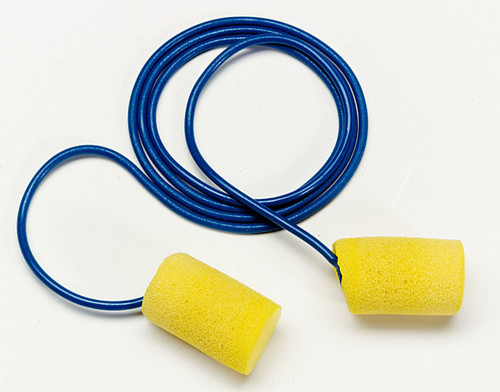 3M 311-1105 E-A-R Classic Corded Earplugs 33 dB (200/Box)