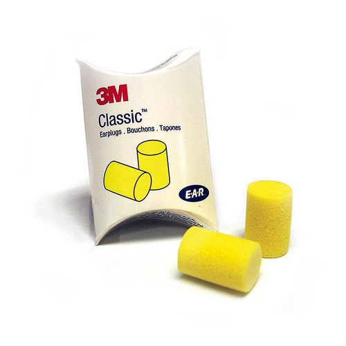 3M 310-1001 E-A-R Classic Uncorded Earplugs (200/Box)
