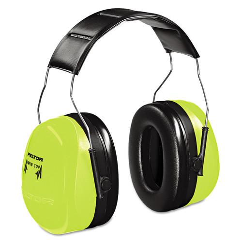 3M H10AHV Peltor Optime Hi Visibility Earmuffs NRR 30 dB