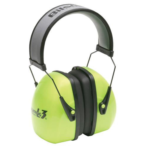 Howard Leight 1013941 Hi-Viz Lightning Noise Blocking Earmuffs