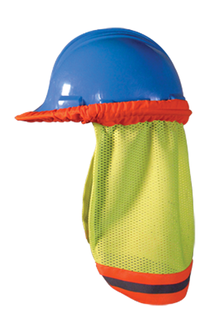 OccuNomix OK-5057009 Yellow High Visibility Mesh Hard Hat Shade