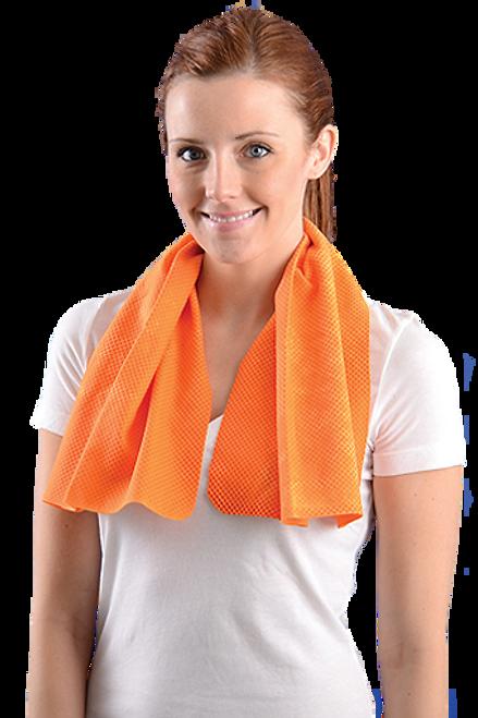 OccuNomix 931 Orange Reusable Cooling Towel