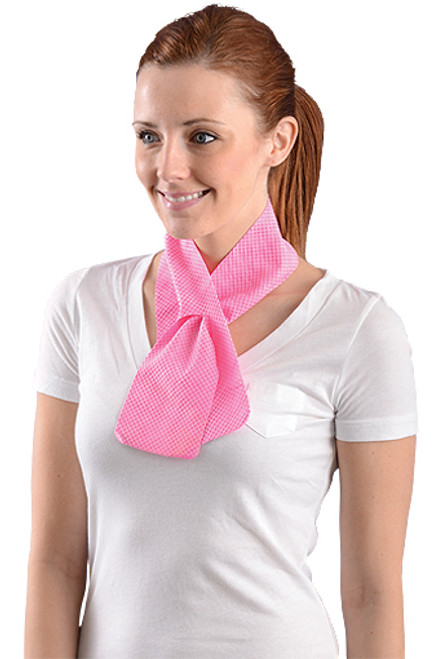 Miracool 930-PK Pink Resuable Cooling Neck Wrap