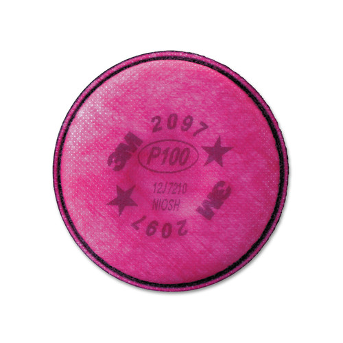 3M 2097 Respirator Filters For 6000, and 7000 Series (2 Filters)