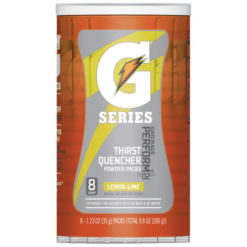 Gatorade 13163 G2 Lemon Lime 20 oz Single Serve Packets (64/Case)