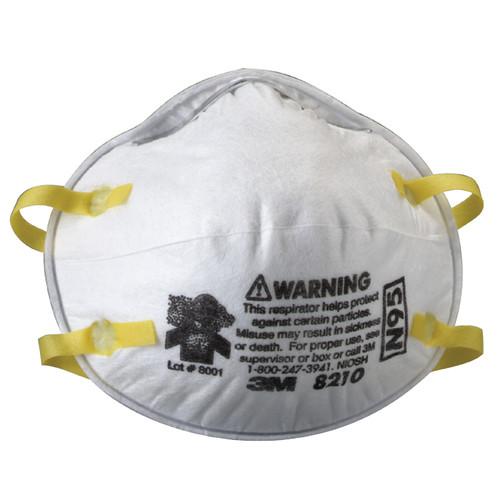 3M 8210 Particulate Respirator N95 (20/Box)