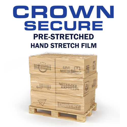 Crown Secure | Pre-Stretched Hand Stretch Film