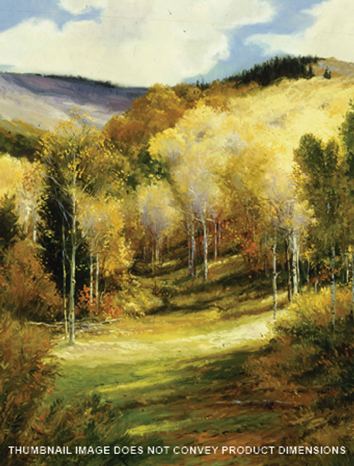 Golden Aspens Above Heber