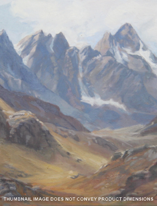 Andes Mountains in Tan