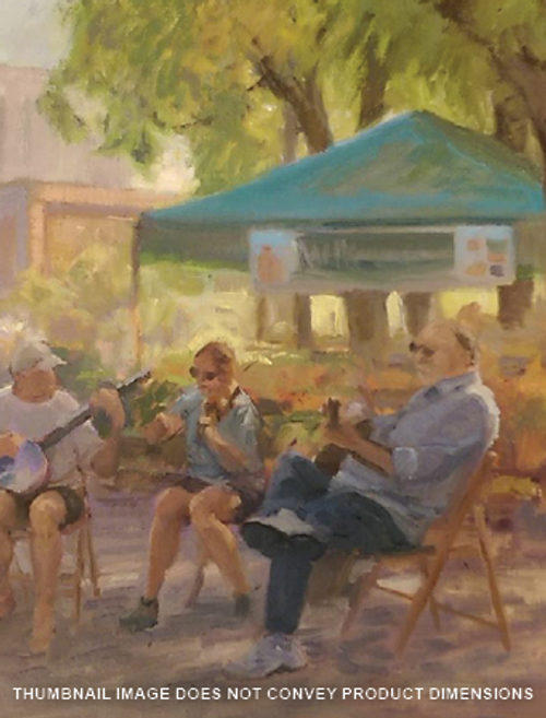 The Musicians at Pioneer Park