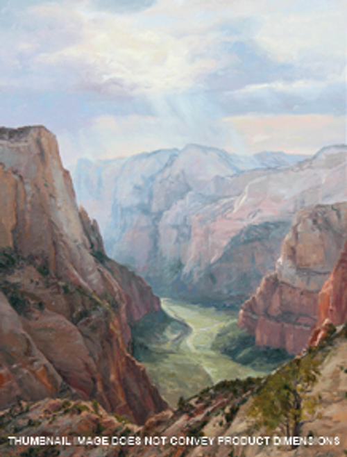 Zions Canyon - Into the Light