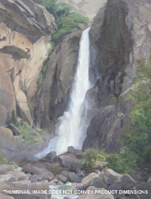 Yosemite Powerful Falls