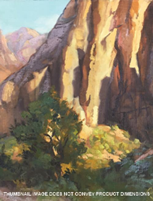 Reflective Cliffs - Zion Canyon