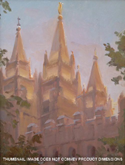 Look Up - Salt Lake Temple