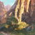 Linda Curley Christensen Reflective Cliffs - Zion Canyon