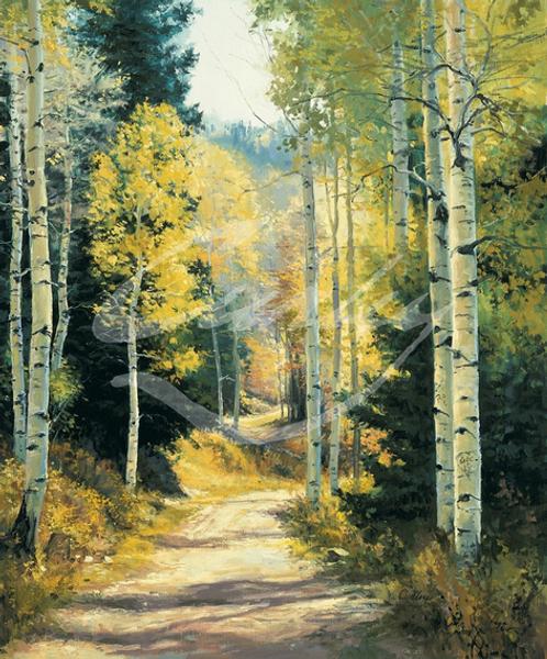 Linda Curley Christensen Aspen Trail