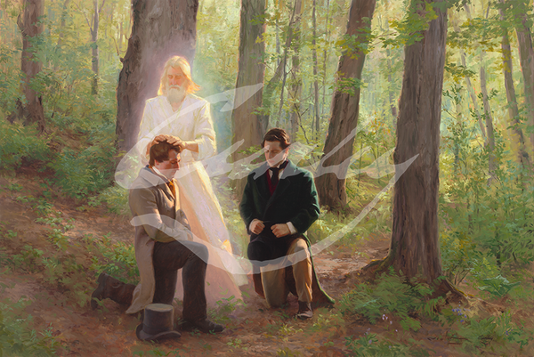 Linda Curley Christensen Priesthood Restoration - Upon You My Fellow Servants