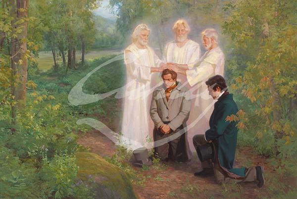 Linda Curley Christensen Priesthood Restoration - Keys of the Kingdom