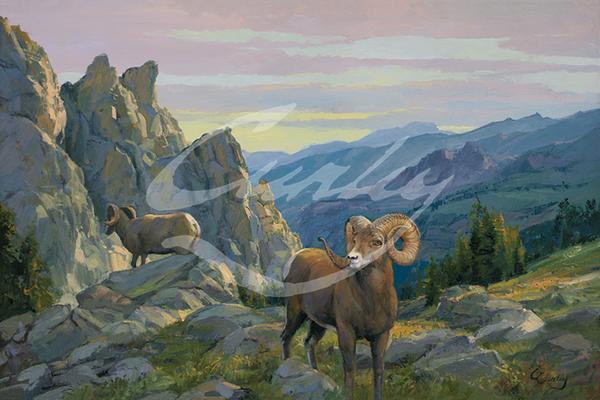 Linda Curley Christensen Desert Rams
