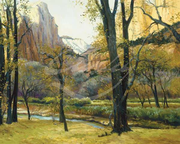 Linda Curley Christensen Fall in Zions