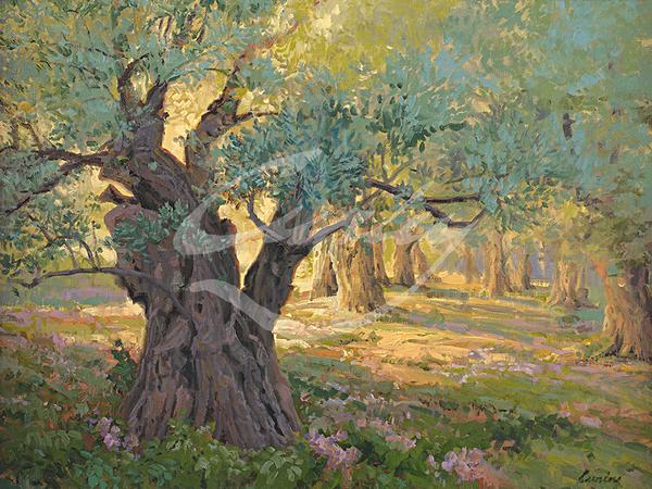 Linda Curley Christensen Gethsemane Prayer Garden