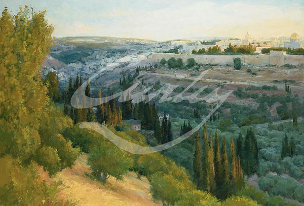 Linda Curley Christensen Jerusalem