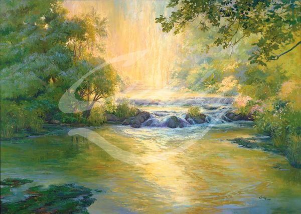 Linda Curley Christensen Living Waters