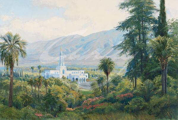 Linda Curley Christensen Redlands Temple View