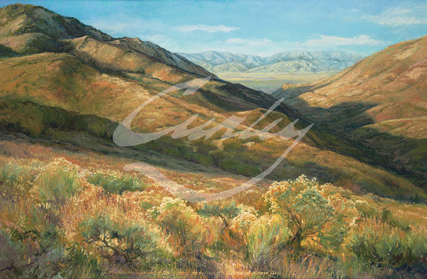 Linda Curley Christensen View of Little Mountain