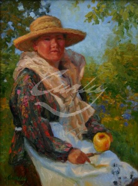 Linda Curley Christensen Apple Harvest