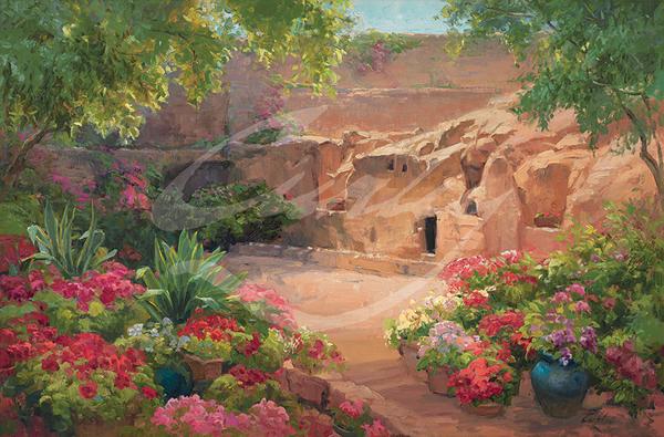 Linda Curley Christensen Garden of the Empty Tomb