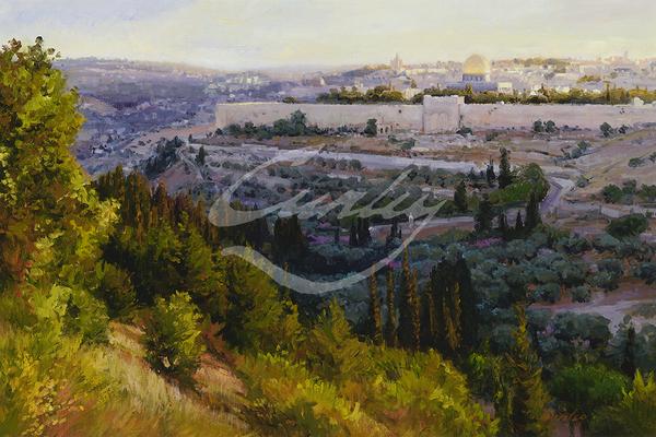 Linda Curley Christensen Oh Jerusalem
